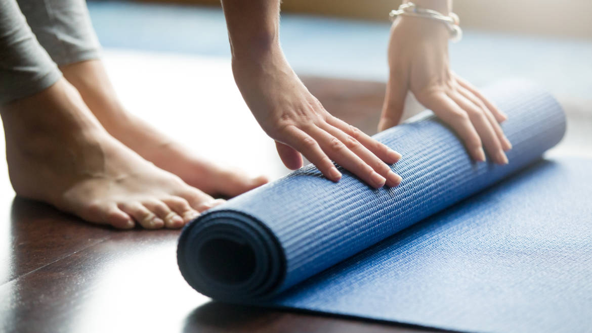Take time out with our weekly yoga & pilates classes